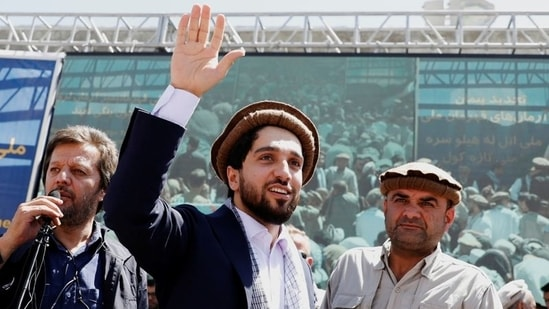 Ahmad Massoud-led resistance forces have vowed to continue their struggle against the Taliban.(Reuters Photo)