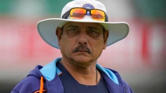 India's head coach Ravi Shastri(AP)