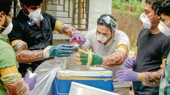 A Nipah virus outbreak was reported in the Kozhikode and Malappuram districts of Kerala in 2018.(File Photo)