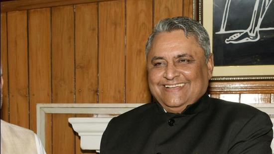Bihar education minister Vijay Kumar Choudhary. (HT FIle)
