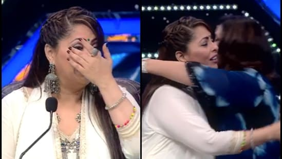 Farah Khan was seen as a special guest on Sunday's episode of Super Dancer 4, which Geeta Kapur is one of the judges of.