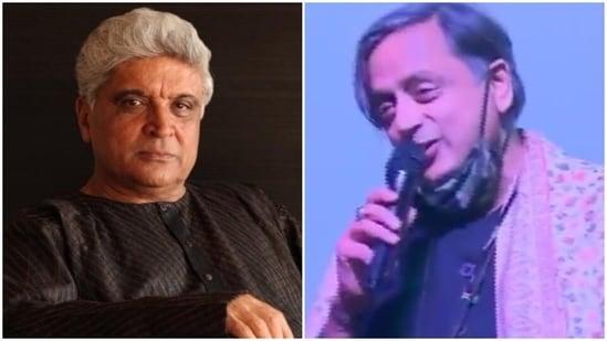 Javed Akhtar tweeted at Shashi Tharoor about his Hindi skills.