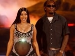 Cardi B and husband Offset welcome second child, a baby boy, with adorable posts