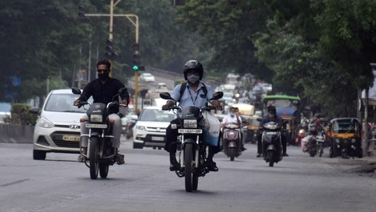 All two-wheelers on city roads are now meant to adhere to a speed limit of 50km/hr.(HT Photo | Representational image)