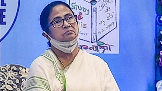 The West Bengal BJP has sent names of six potential candidates who could contest against chief minister Mamata Banerjee from Bhabanipur in the bypolls later this month (PTI)