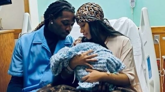 Cardi B and Offset welcome second child together, share first glimpse of baby
