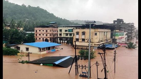In July, heavy rain wreaked havoc throughout Maharashtra, causing several rivers to overflow and inundate several areas. (Hindustan Times)