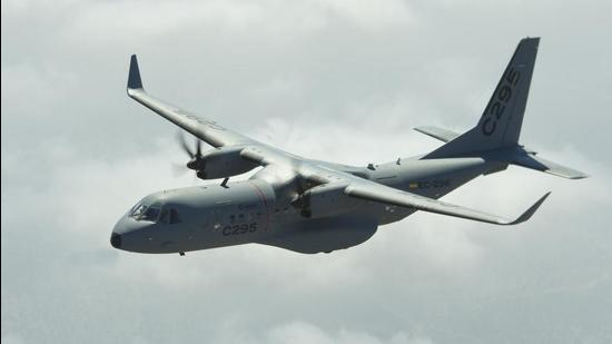The Cabinet Committee on Security on Wednesday cleared the purchase of 56 C-295 medium transport aircraft to replace the Indian Air Force's fleet of Avro-748 planes. (PIB: DEFENCE WING.)