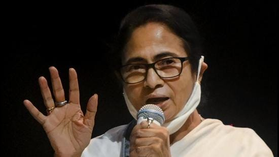 Banerjee will file her nomination for the Bhabanipur on Friday. The bypolls would be held on September 30 while the counting will take place on October 3.(PTI file photo)