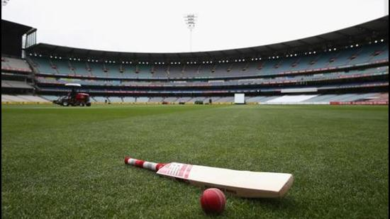 Batting first, Delhi posted a massive total of 332 for seven in 50 overs against Madhya Pradesh during the JP Atray Memorial Cricket Tournament at Sector 16 stadium in Chandigarh. (Getty Images)