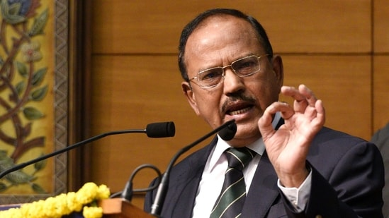 Both spy chiefs and their teams met National Security Adviser Ajit Doval and top members of the National Security Council Secretariat(HT File)