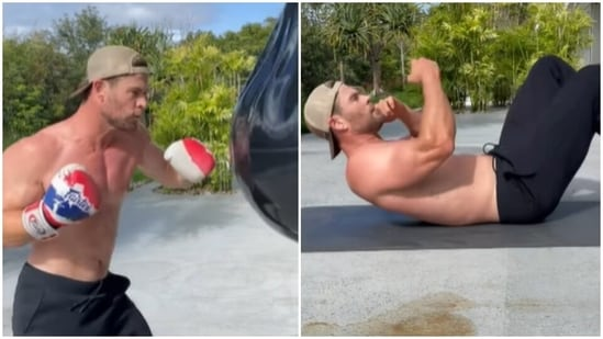 This is how Chris Hemsworth is training for Extraction sequel, see intense workout routine(Instagram/@chrishemsworth)