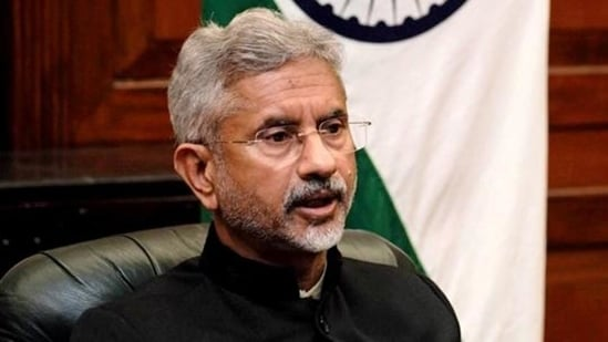 """""""Not just that there has already been some progress in that regard and actually the formal talks start this month,"""" external affairs minister S Jaishankar said.(File Photo)"""