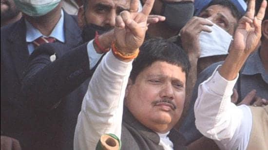 Bhartiya Janata Party (BJP) leader Arjun Singh. (HT Archive)