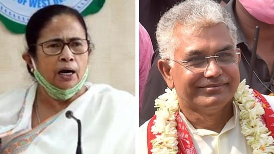 BJP's West Bengal president Dilip Ghosh said people have made up their minds that the contest in Bhabanipur by-polls will be between TMC and BJP.