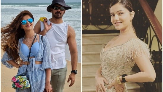 Rubina Dilaik's new Instagram post got a response from her husband Abhinav Shukla.