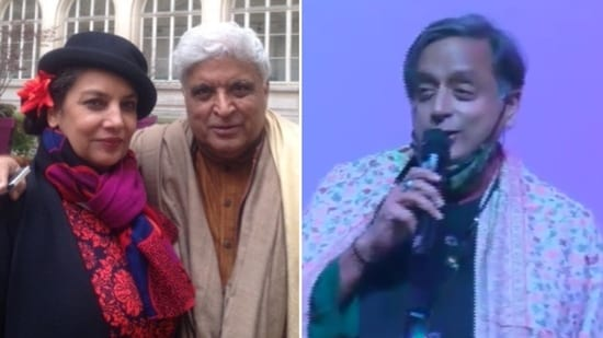 Shabana Azmi had a message for those trolling Javed Akhtar for his comment about Shashi Tharoor's Hindi.