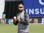 Pakistan all-rounder Mohammad Nawaz tests positive for Covid-19 ahead of New Zealand series(TWITTER/PCB)