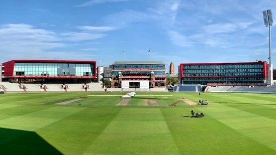 India vs England 5th Test, Weather Update: Will rain interrupt the action on the first day at Old Trafford, Manchester?(TWITTER/BCCI)