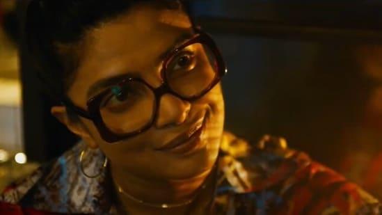 Priyanka Chopra in The Matrix Resurrections trailer.