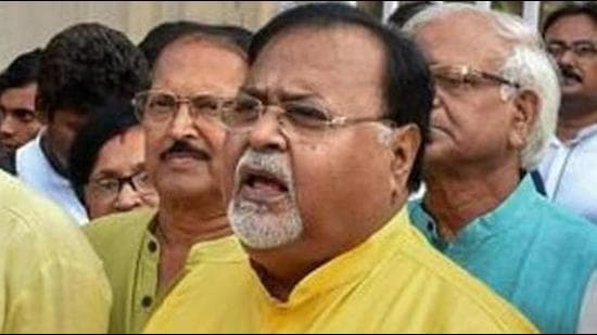 West Bengal industry minister Partha Chatterjee has been summoned by the CBI on September 13 for questioning in the I-Core ponzi scam the agency is probing since 2014. (PTI PHOTO.)