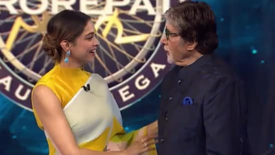 Deepika Padukone, who will be seen in an upcoming episode of KBC 13, picked Piku as her favourite movie but Amitabh Bachchan wasn't convinced.