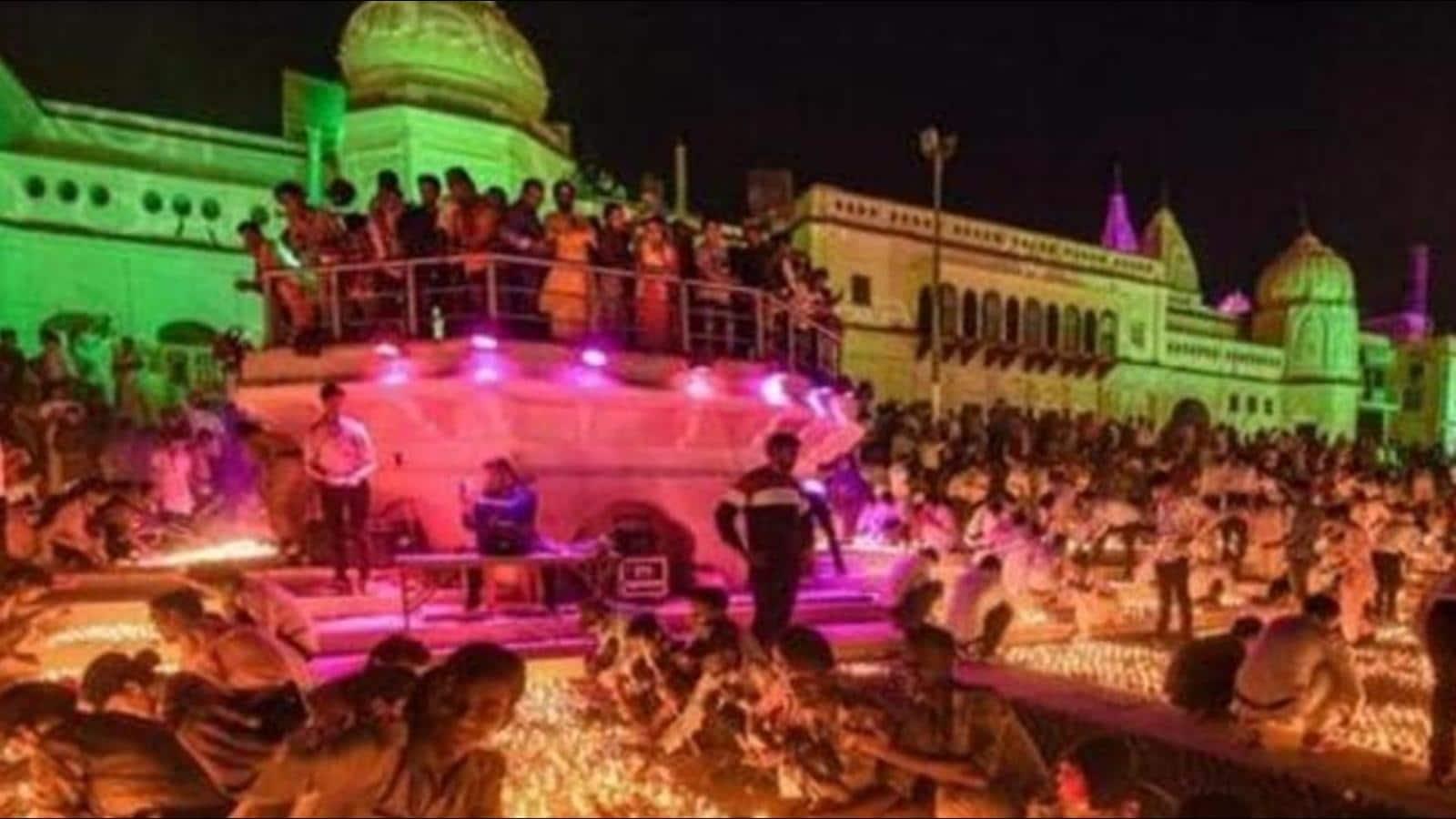 Grand Deepotsav celebrations in Ayodhya from November 1 to 6
