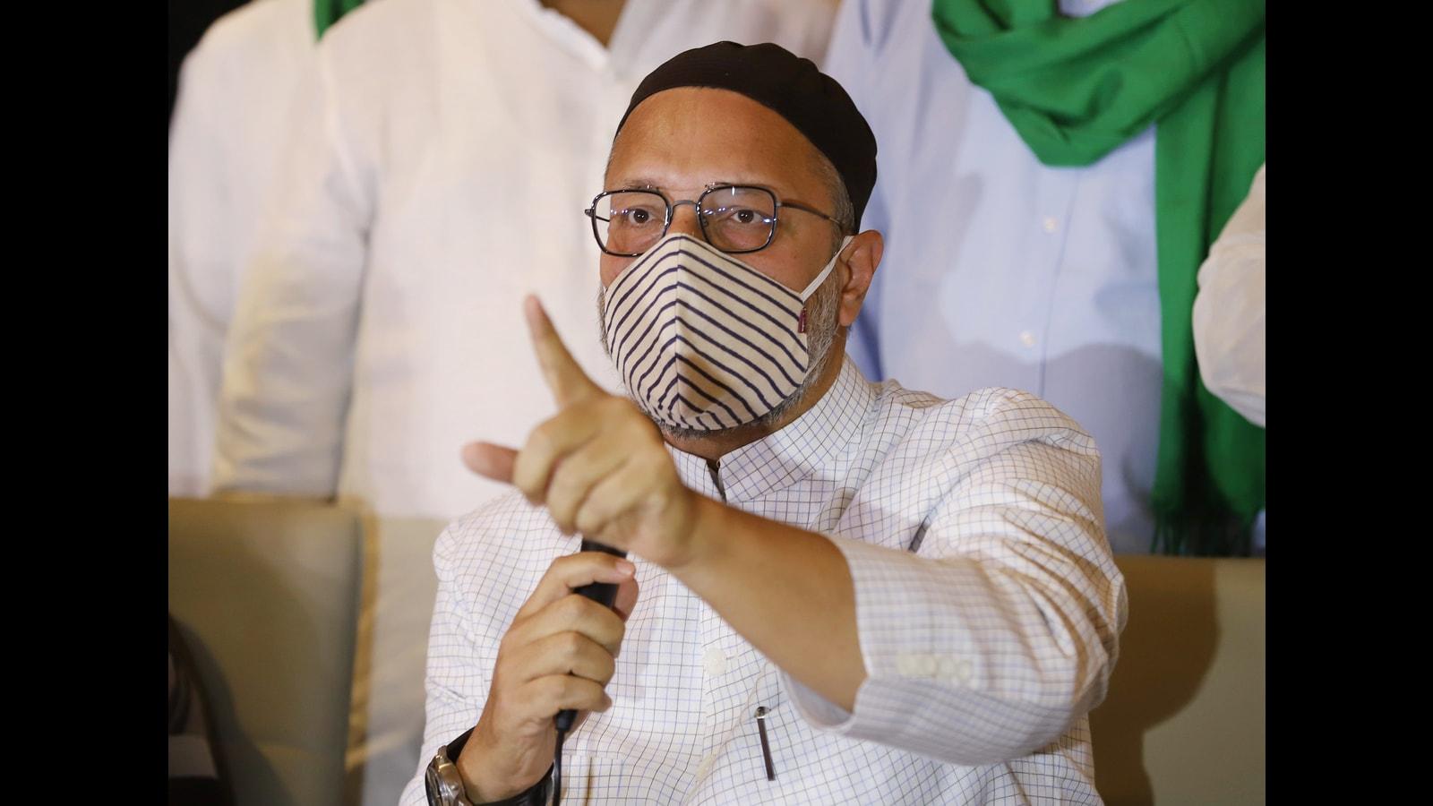 2 FIRs against Asaduddin Owaisi a day after public meet