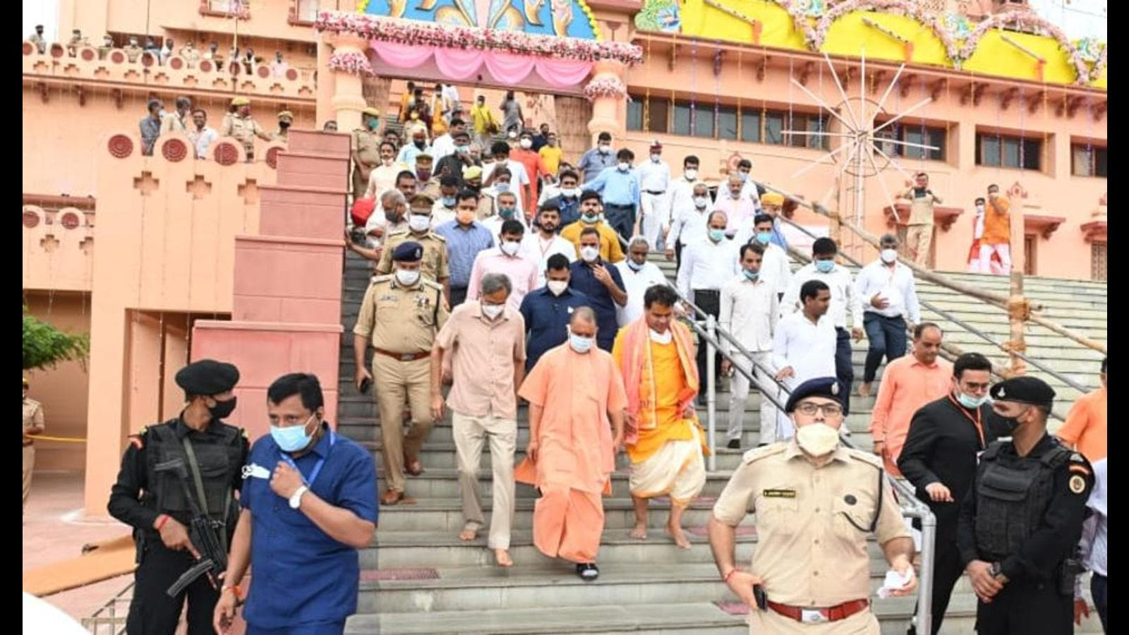 UP government declares 10 sq km area of Mathura-Vrindavan as 'teerth sthal'