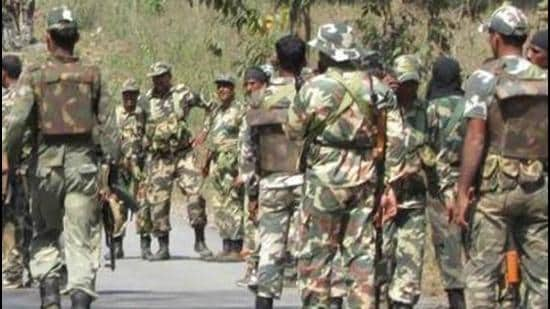 The Sarkeguda encounter report which was submitted on December 1, 2019 to the Chhattisgarh government stated that security forces had unilaterally fired on villagers and concluded that there was no evidence to suggest that any of the deceased was a Maoist. (Image used for representation). (HT FILE PHOTO.)