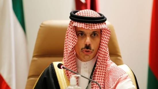 Saudi Arabia's foreign minister Prince Faisal bin Farhan Al Saud(File Photo / REUTERS)