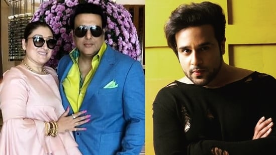 Krushna Abhishek reacted to Govinda's wife Sunita Ahuja recent interview. She had said she doesn't want to see the comedian-actor's face again.