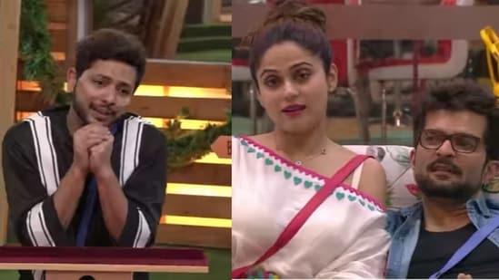 Bigg Boss OTT contestant Nishant Bhat imitates Shamita Shetty.