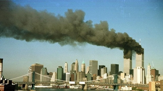 The September 11 attacks on the Twin Towers by hijackers loyal to Al-Qaeda killed more than 2,750 people.(Reuters File Photo)