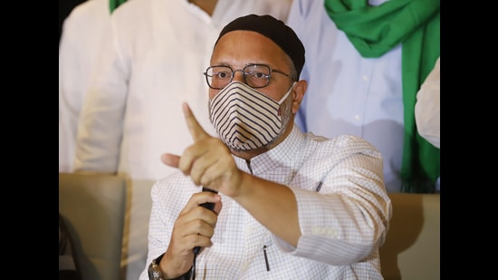 All India Majlis-e-Ittehadul Muslimeen chief Asaduddin Owaisi (ANI)