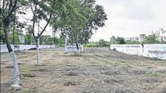 The BJP refuted the Congress' allegations saying that the LIT land was allotted as per the rules. (Representative Image/HT File)