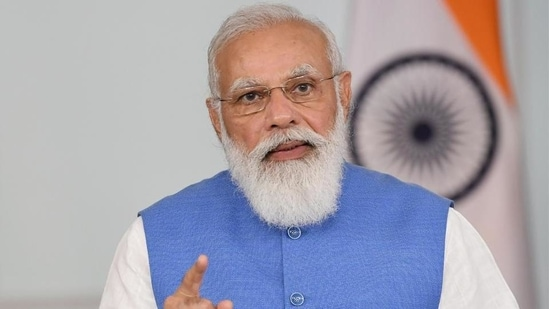 PM Modi held a meeting to review Covid-19 situation and the pace of vaccination.