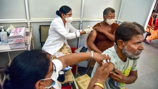 UP's vaccination rate is also higher than Mexico, Russia, France and Canada (in order). (PTI Photo)