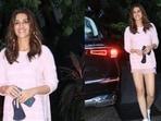 Kriti Sanon buys a new car.(Varinder Chawla)