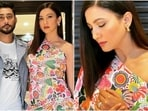 Indian actor Gauahar Khan and her husband, Zaid Darbar, are taking the internet by storm with their latest fashionable looks in glamorous outfits. The two stars gave us couple fashion goals in their oh-so-adorable pictures. Scroll ahead to see all of them(Instagram/@gauaharkhan)
