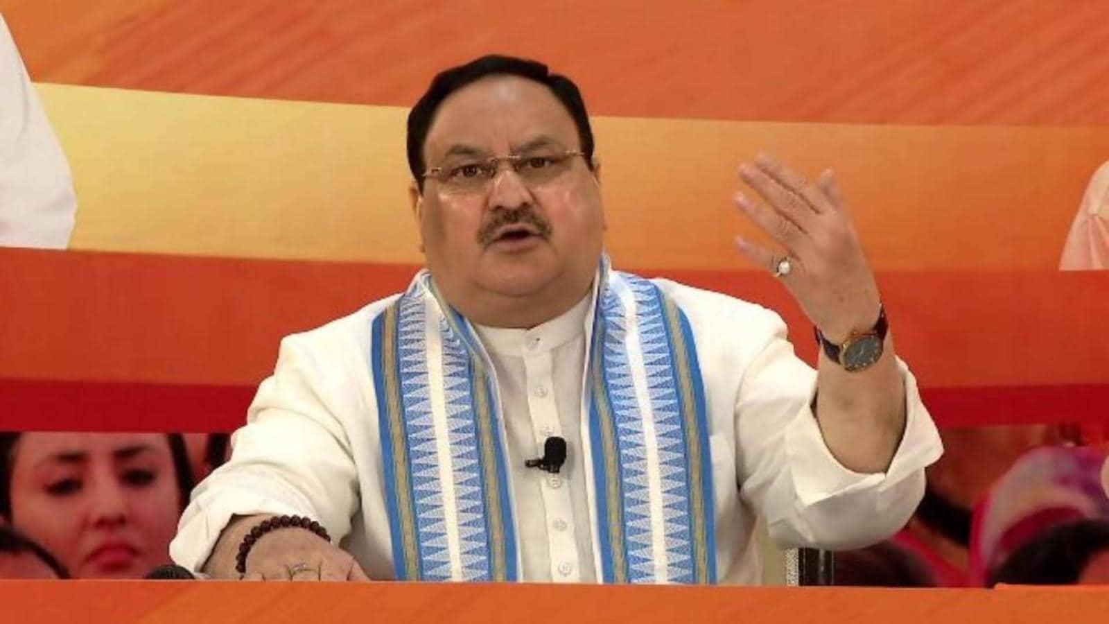 JP Nadda launches BJP booth campaign in Uttar Pradesh