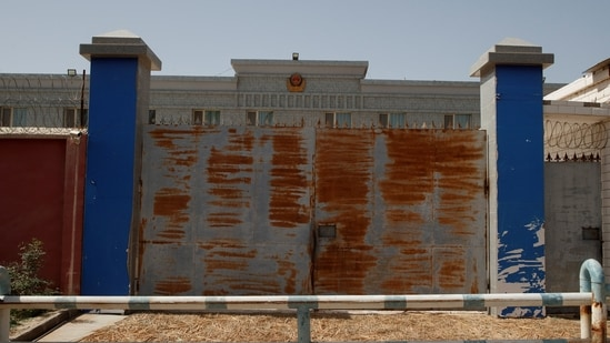 High security prison is seen in Karakax, outside Hotan, Xinjiang Uyghur Autonomous Region, China.(Reuters file photo)