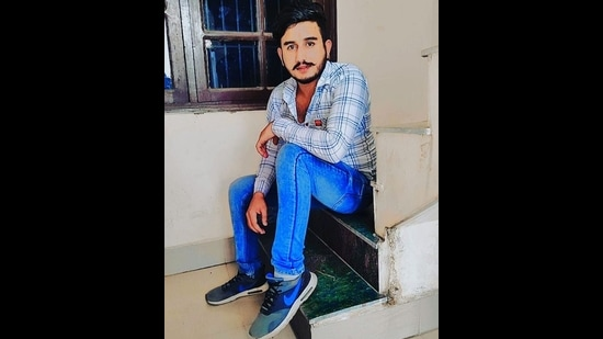 Victim, Surya, who was hacked to death by a group of men in Yamunanagar on Friday night. (HT PHOTO)
