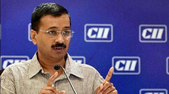 AAP national convener Arvind Kejriwal addressed the party's national council meet on Saturday. Instead of seeking tickets, you prove your worth by working for the society, the Delhi chief minister told his partymen (PTI)