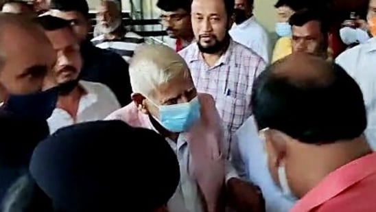 Nand Kumar Baghel walked out of prison hours later after spending three nights behind bars.(ANI file photo)
