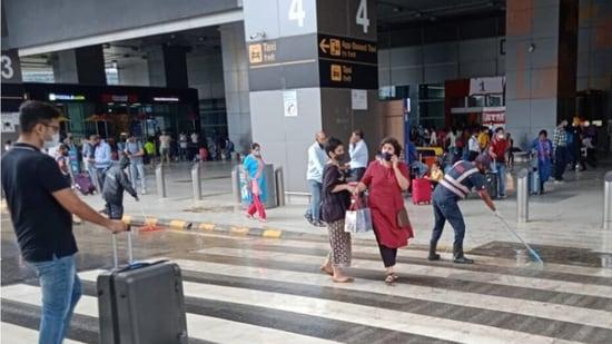 Delhi's IGI Airport on Saturday (twitter.com/DelhiAirport)
