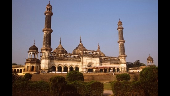 The mosque of Asaf ud Daulah, the Bara Imambara, Lucknow's most enduring monument. (Universal Images Group via Getty)