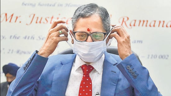 Chief Justice of India NV Ramana. (PTI)