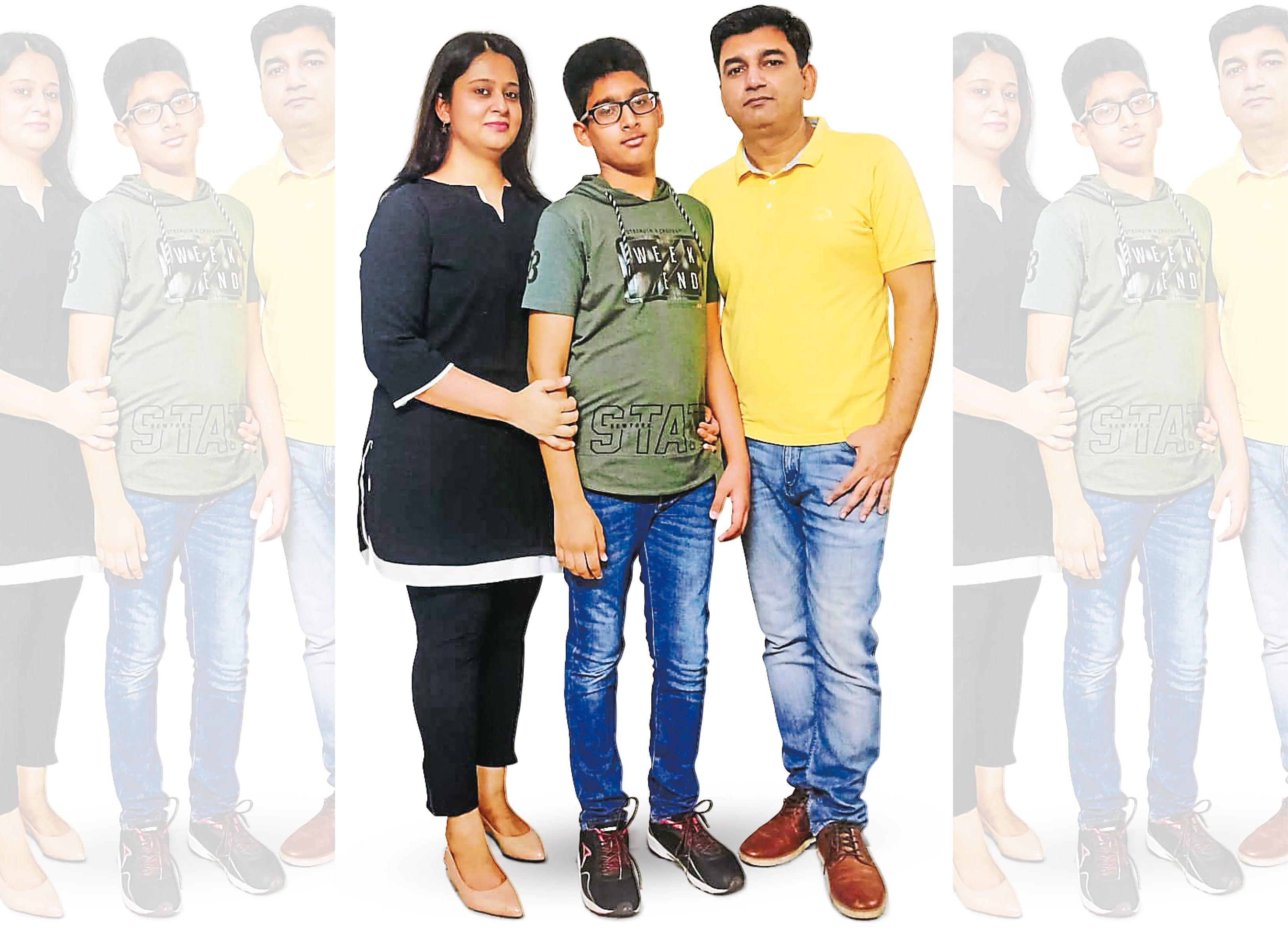 Deepak and Prachi Kalra;  Parents in Aarav, 12 years old