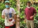 Delhi Capitals players from England arrive in Dubai(HT Collage)
